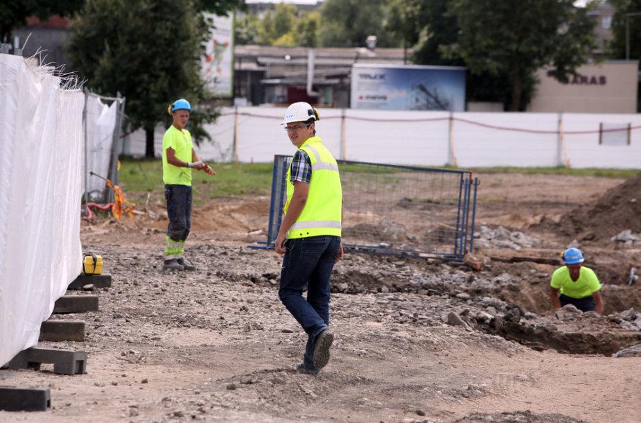 Statybų pradžios renginys