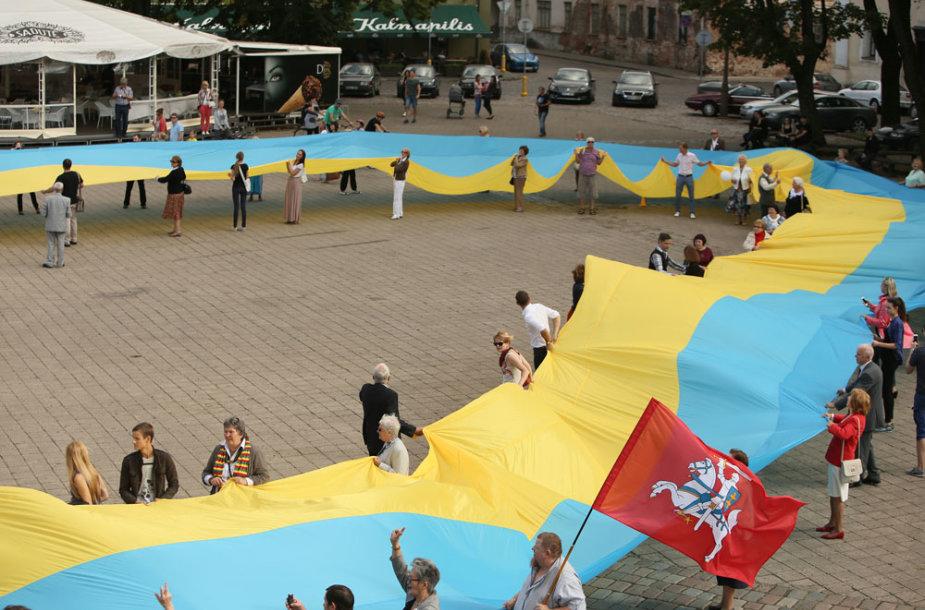 Ukrainos vėliava