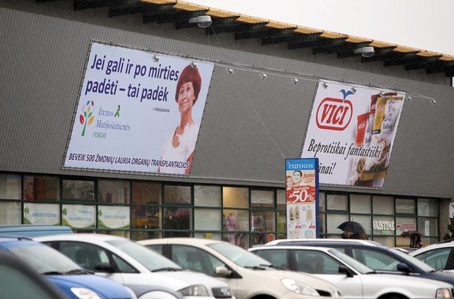 Irenos Matijošaitienės fondo socialinės reklamos plakatai.