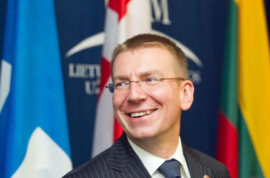 Edgaras Rinkevičius, Latvijos užsienio reikalų ministras