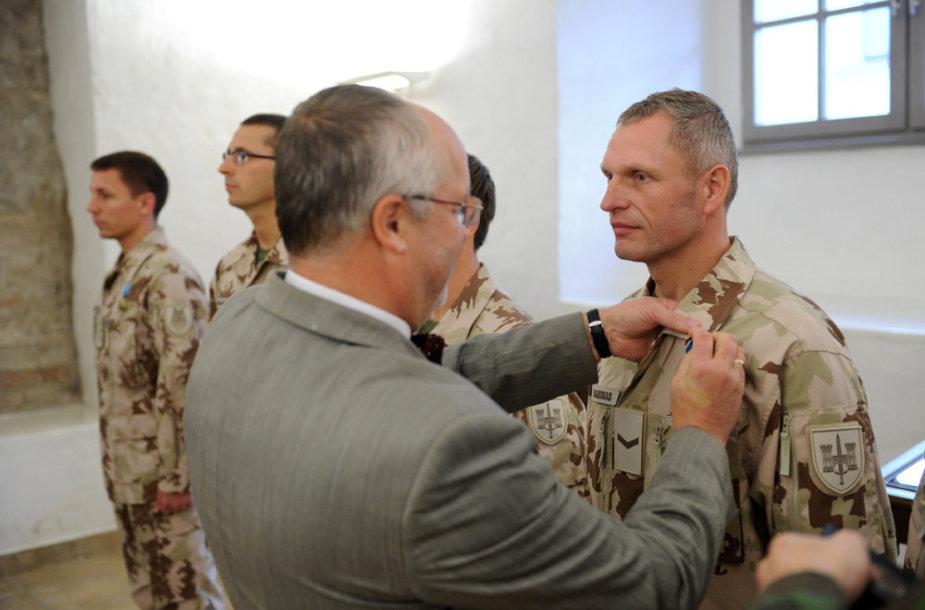 Iš Afganistano grįžusių Lietuvos karių sutiktuvės