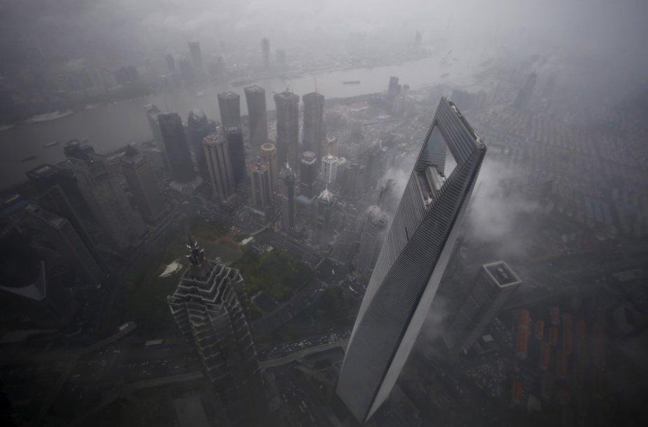 Kinijoje, Šanchajuje, netrukus duris atvers antras pagal aukštį pasaulyje pastatas