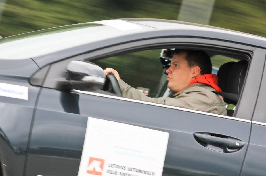 Geriausio vairuotojo rinkimai Klaipėdoje