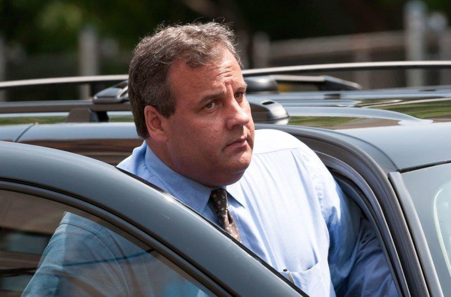 Naujojo Džersio gubernatorius Chrisas Christie