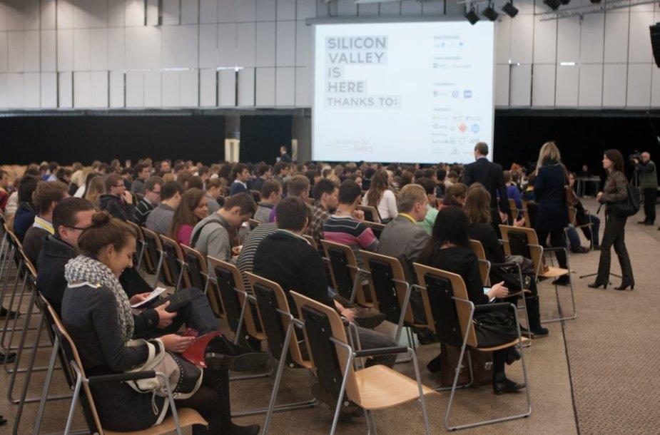 "Tarptautinė verslo konferencija ""Silicon Valley Comes to the Baltics"""