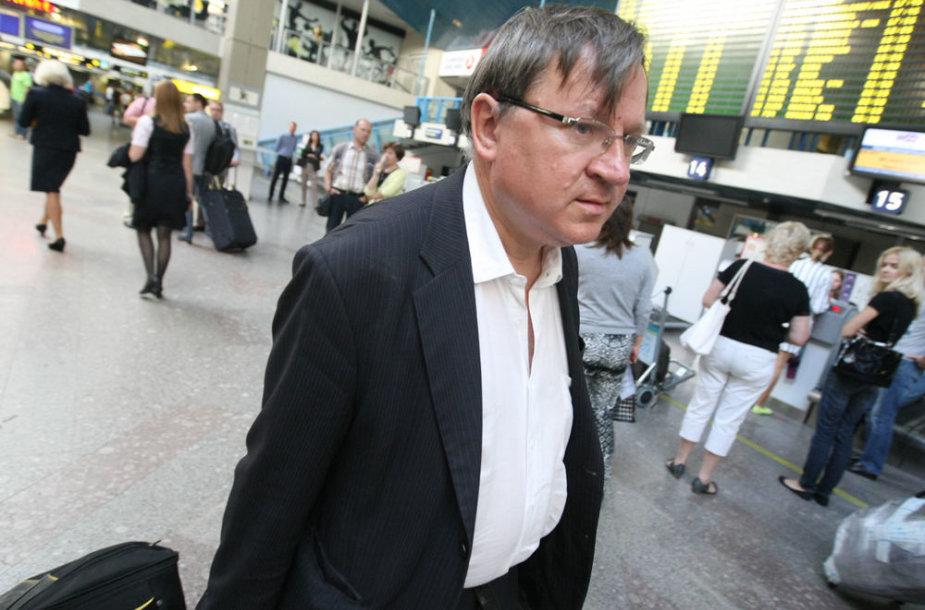Egidijus Vareikis Vilniaus oro uoste