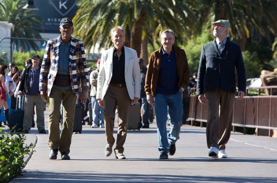 """Kadras iš filmo """"Paskutinį kartą Vegase"""""""