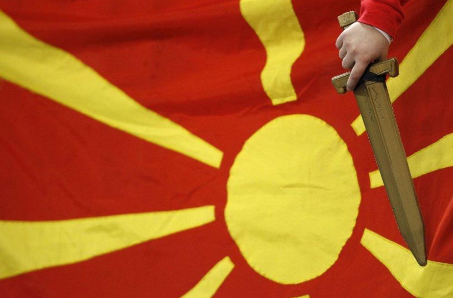 Makedonijos vėliava