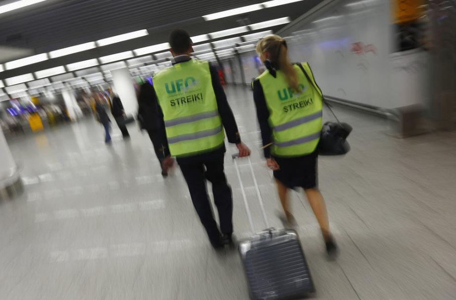 Streikas oro uoste