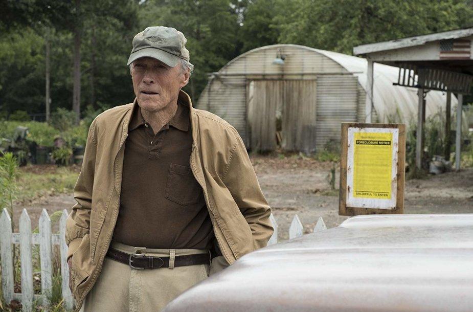 "Clintas Eastwoodas filme ""Kurjeris"""