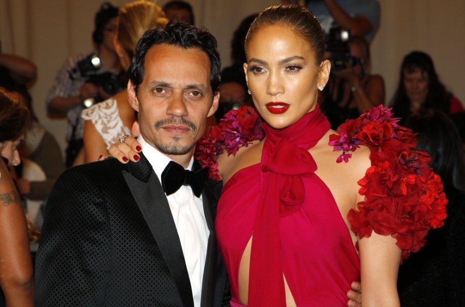 Jennifer Lopez ir Marcas Anthony 2011-aisiais