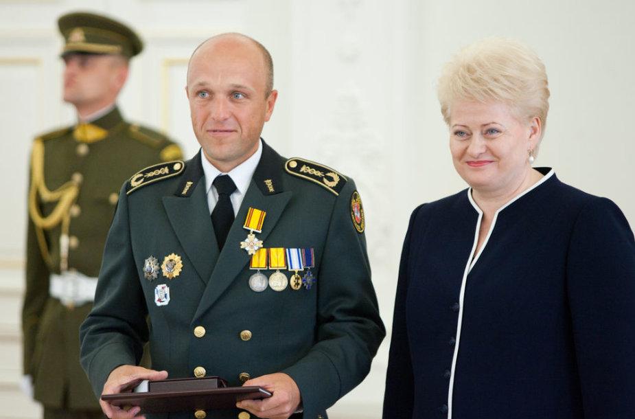 Saulius Urbanavičius ir Dalia Grybauskaitė