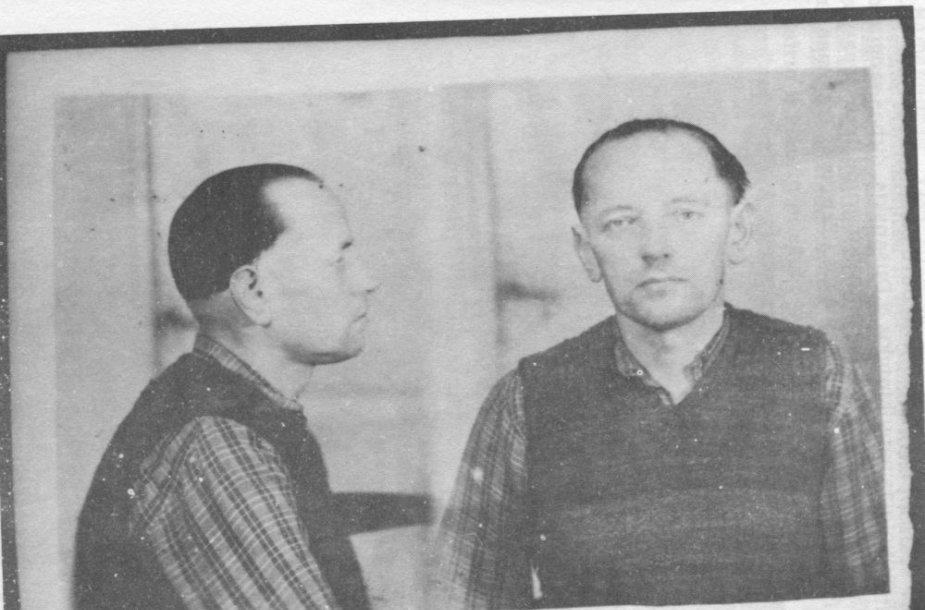 Adolfas Ramanauskas – Vanagas. Nuotrauka iš bylos