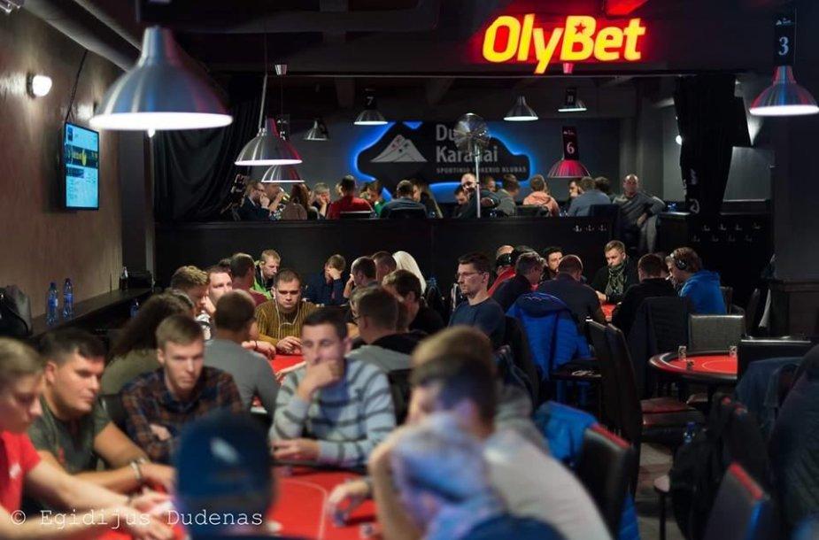 Du Karaliai sportinio pokerio klubas / Egidijaus Dudėno nuotr.