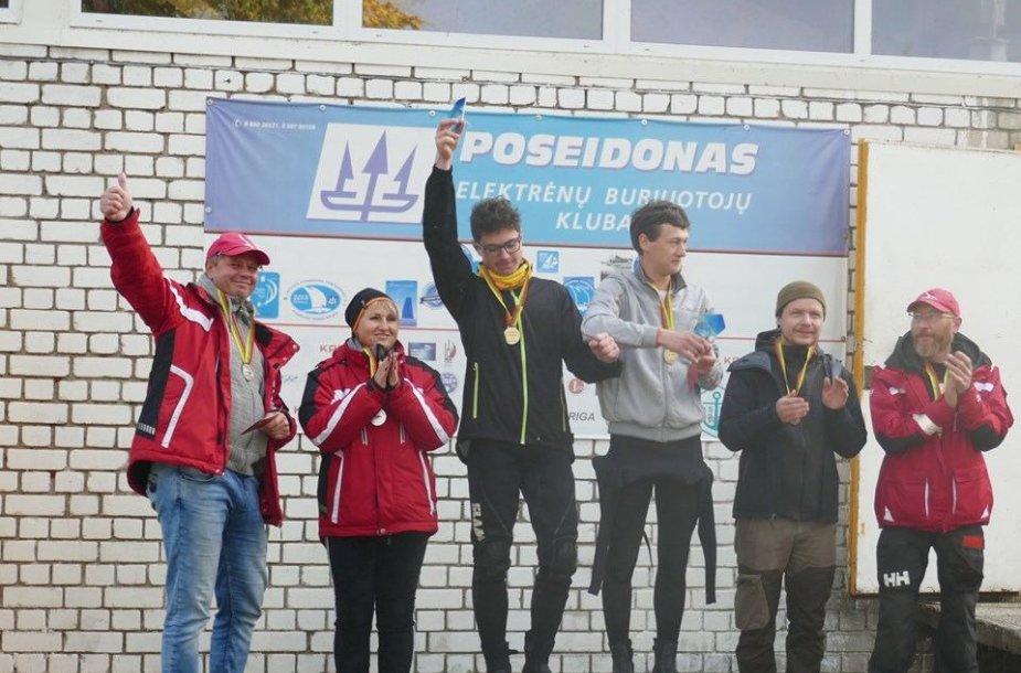 Lietuvos katamaranų čempionato akimirka