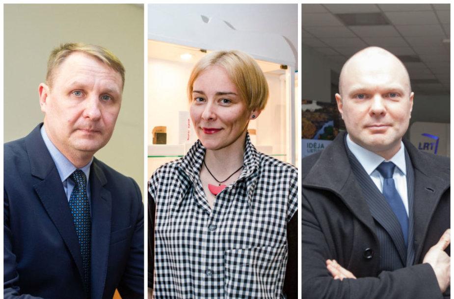 Andrius Šedžius, Jurga Lago ir Kristupas Krivickas
