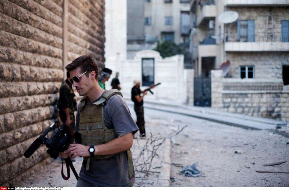 JAV žurnalistas Jamesas Foley