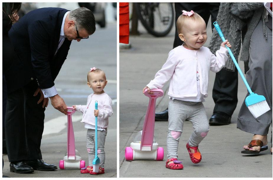 Alecas Baldwinas su dukra Carmen