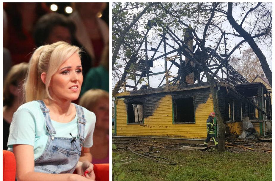 Donata Gutauskienė-Laisva, sukrėsta gaisro Panevėžyje, siūlo neatsakingas motinas sterilizuoti