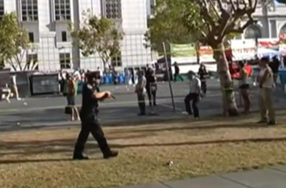 Gėjų parade San Fransiske įvyko susišaudymas.