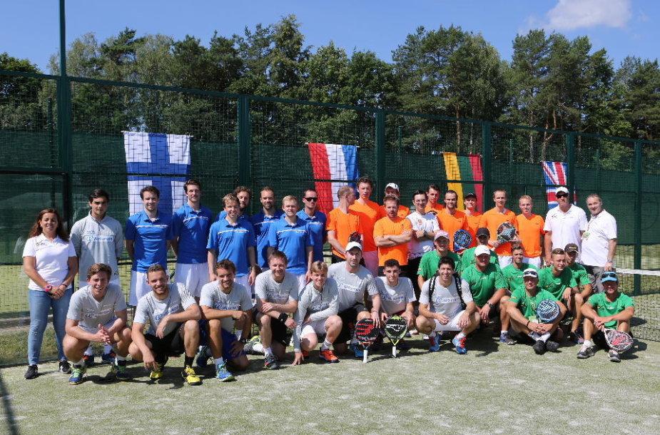 Lietuvoje prasidėjo geriausiųjų padelio žaidėjų žygis į Pasaulio čempionatą Lisabonoje