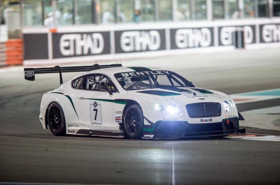 """Bentley Continental GT3"" ""Gulf 12"" lenktynėse"