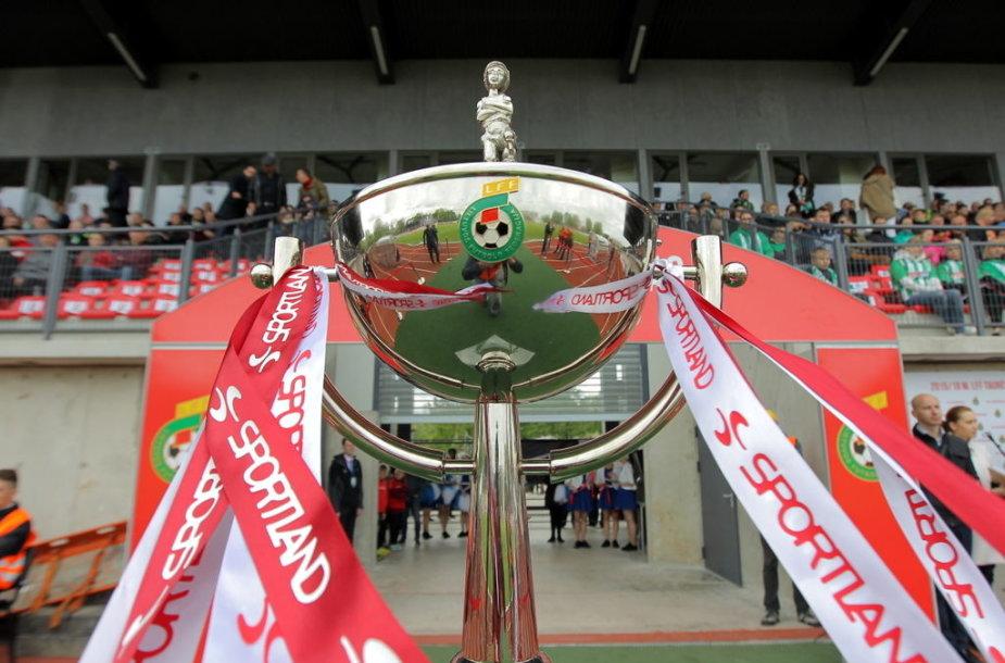 LFF taurę penktąjį kartą iš eilės iškovojo žalgiriečiai