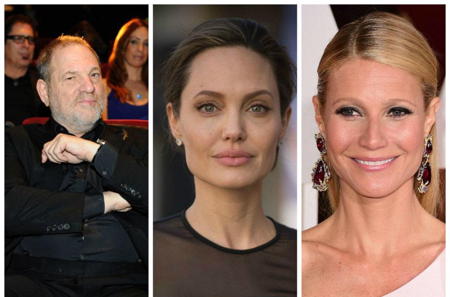Harvey Weinsteinas, Angelina Jolie, Gwyneth Paltrow