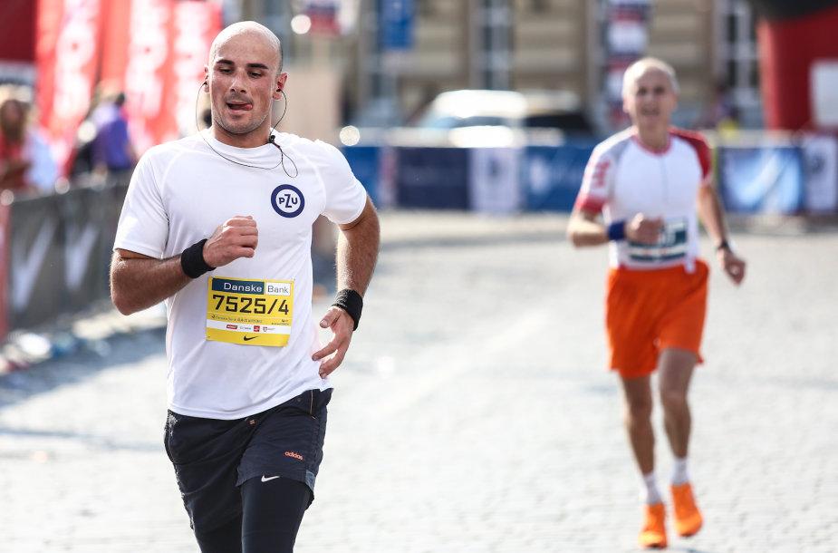 """Danske Bank Vilniaus maratono"" akimirka"