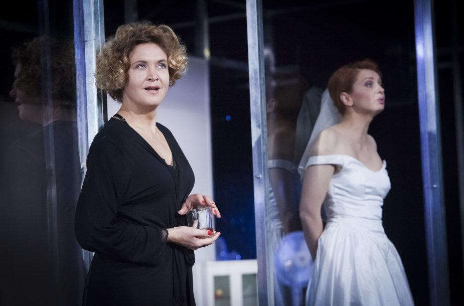 Aktorė Daiva Rudokaitė ir jos sukurti vaidmenys