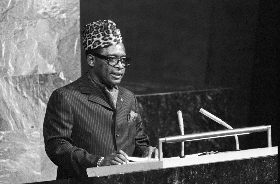 Mobutu Sese Seko Jungtinių Tautų Organizacijos tribūnoje
