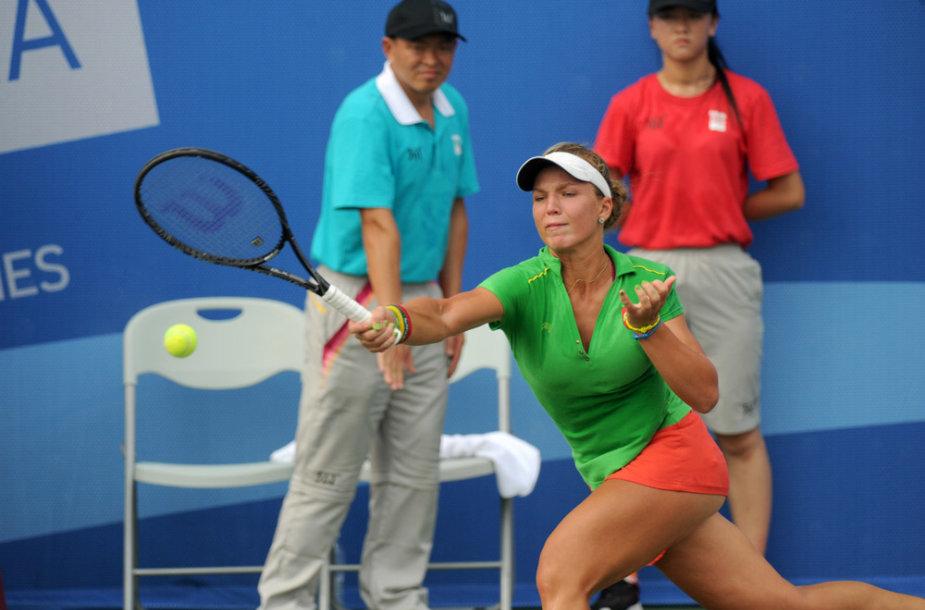 Akvilė Paražinskaitė  – jaunimo olimpinėse žaidynėse Nandzinge