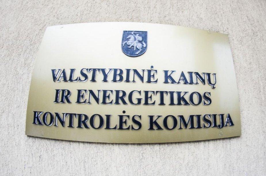 Valstybine kainų ir energetikos kontrolės komisija.