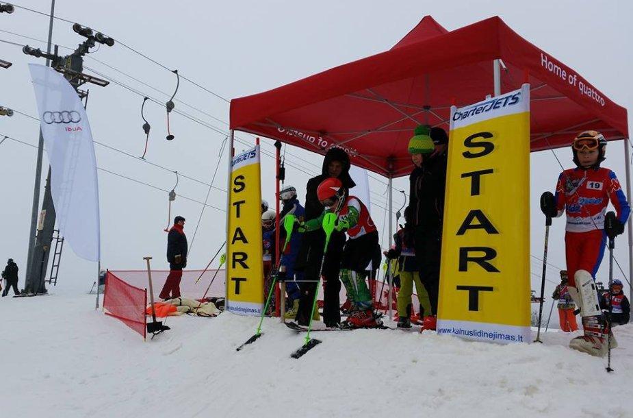 Jaunieji kalnų slidininkai