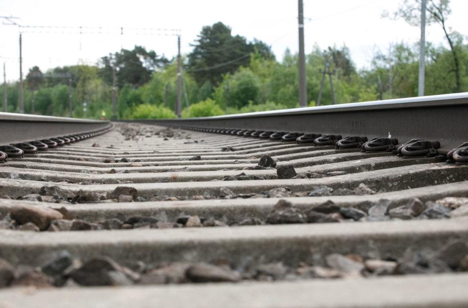 Geležinkelio rekonstrukcijos darbai