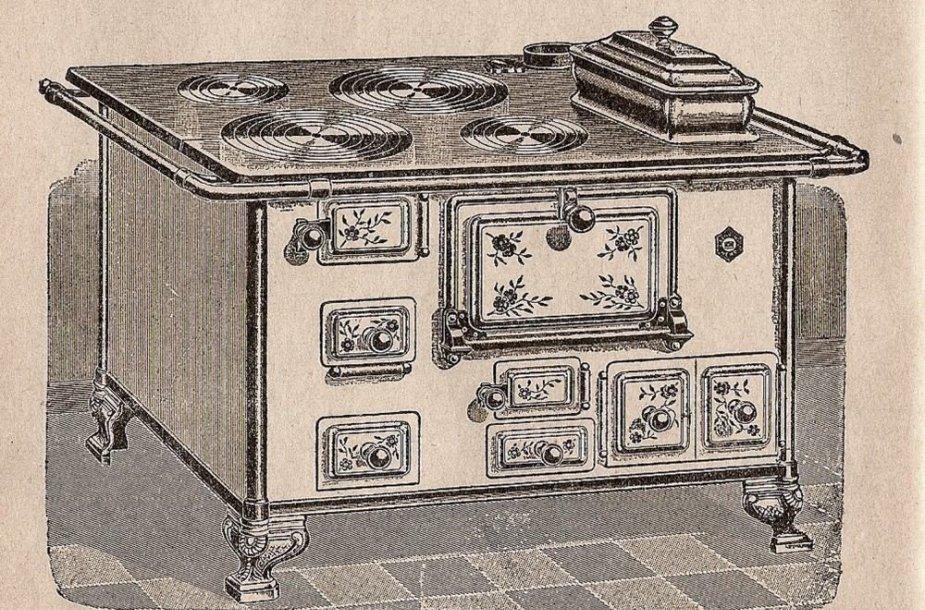 Angliška krosnis // Marya Ochorowicz-Monatow a Uniwersalna książka kucharska.