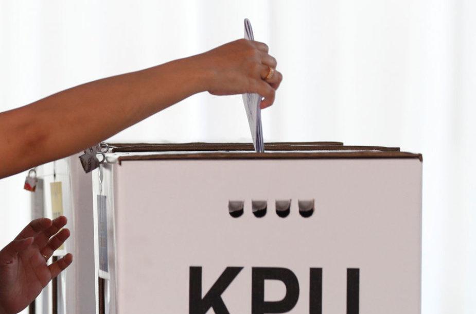 Rinkimai Indonezijoje