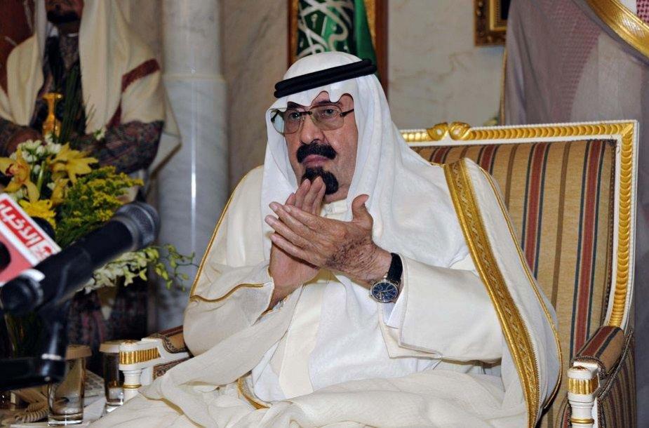 3 vieta – Saudo Arabijos karalius Abdullah – 18 mlrd. dolerių