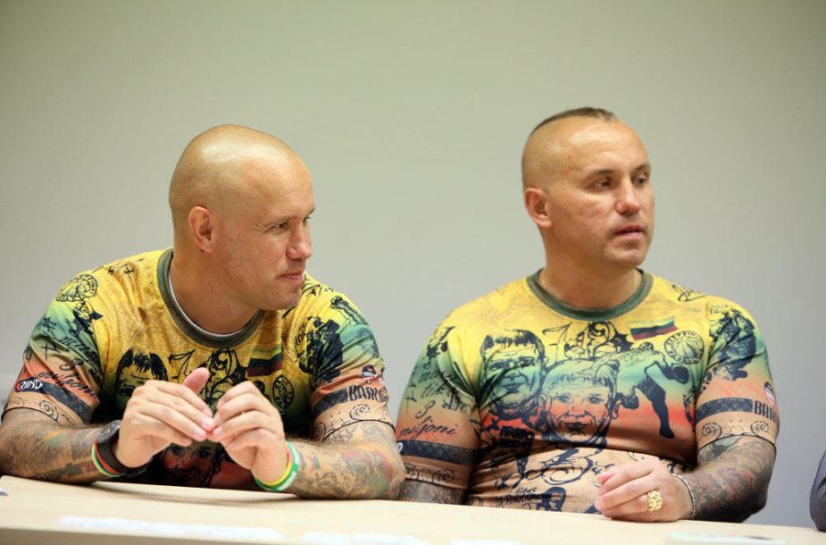 Broliai Maciai pristatė paramos fondą