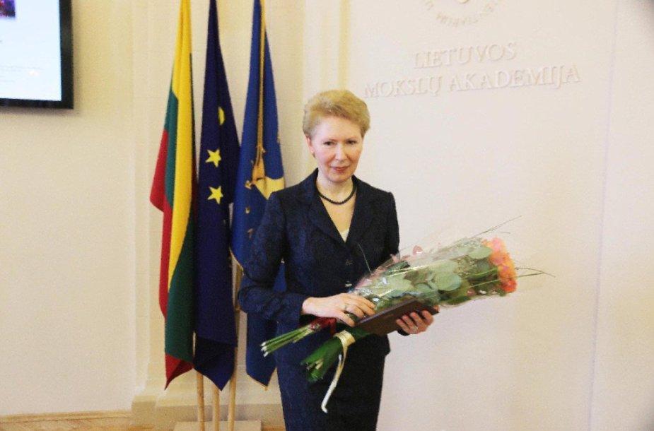 Antroji Kauno miesto mokslininko premija įteikta D. Rastenytei