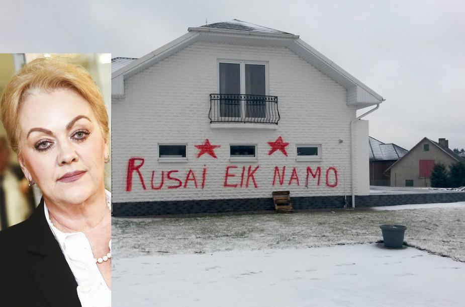 Išpuolis prieš Seimo narę Iriną Rozovą