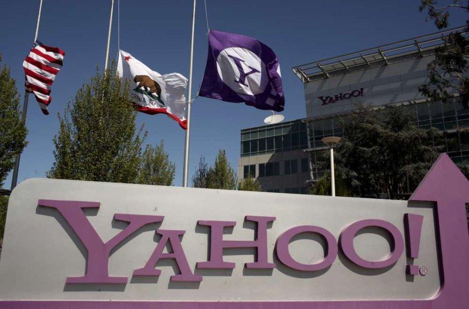"""""""Yahoo!"""" būstinė Kalifornijoje"""