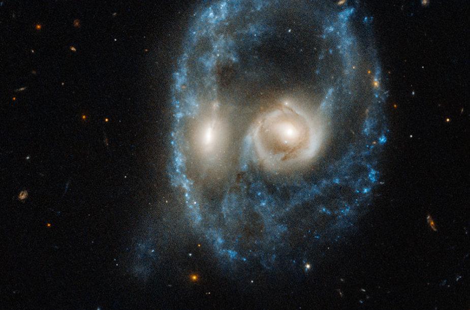 """Hubble"" užfiksuotas ""veidas"""
