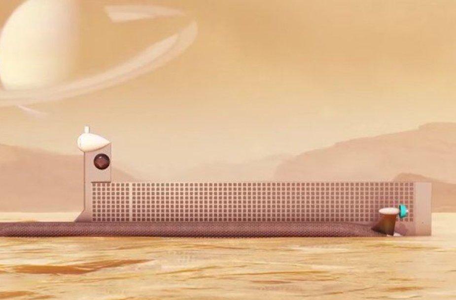 Taip galėtų atrodyti NASA tyrimų instrumentas Titane