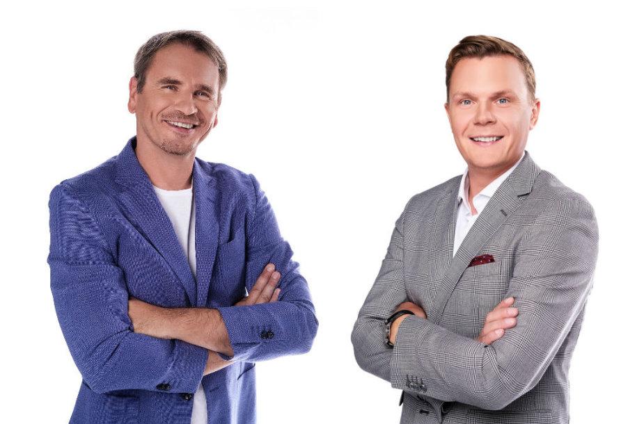 Marijonas Mikutavičius ir Mindaugas Stasiulis