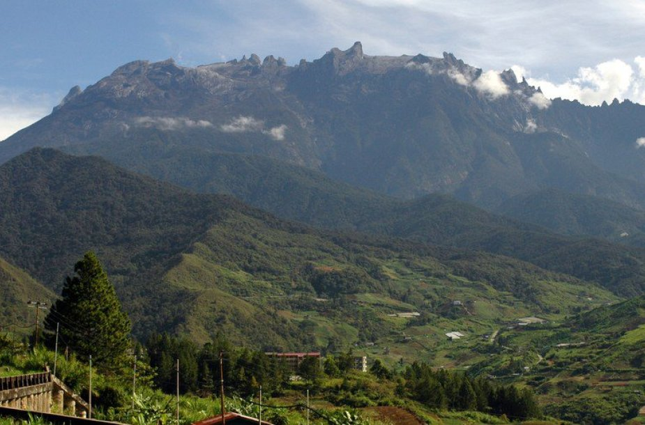 Kinabalu kalnas.
