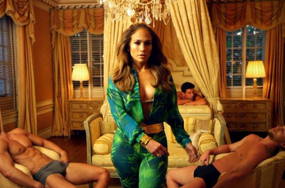 "Jennifer Lopez dainos ""I Luh Ya Papi"" vaizdo klipe"