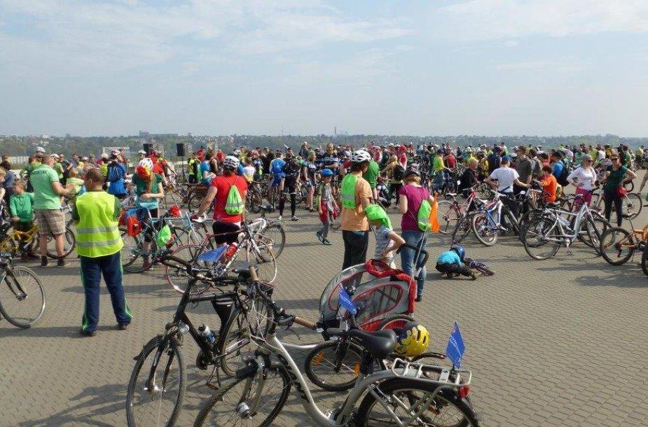 Kauno dviratininkų paradas