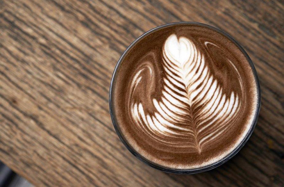 Latės kava