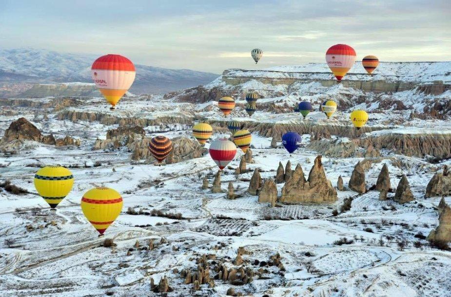 Kapadokija žiemą